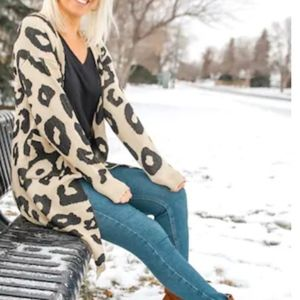 SYBIL Animal print Cardigan